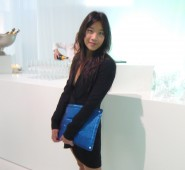 Dee Poon at the Tom Dixon / Design Miami dinner during Art Basel