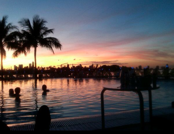 POOL SUNSET…is here