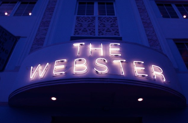THE WEBSTER…is here