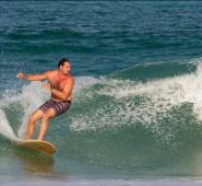 Michael Laas Surfing  - Miami Beach