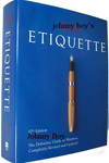 Johnny Boy Etiquette cover