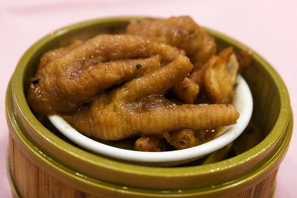 Fung Zao - Fried Steamed Chicken Feet