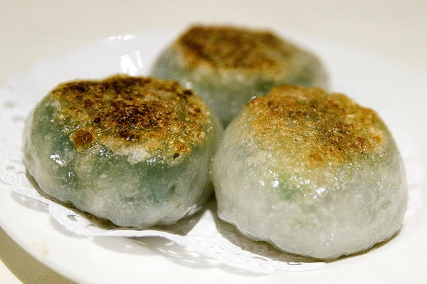 Jiu Cai Bau - Chive Dumpling
