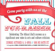 Miami Rail Fun-Raiser Invite