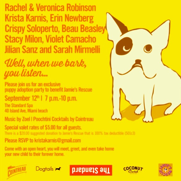 CUTIE PATOOTIE PUPPY ADOPTION PARTY…is here
