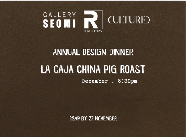 Cultured Dinner Invite