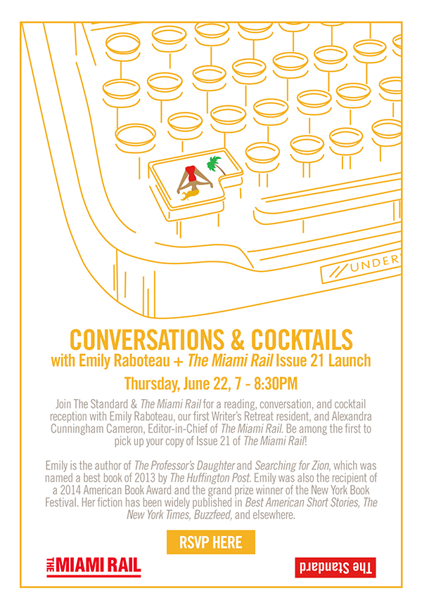 The Standard x Miami Rail Conversations & Cocktails…is here